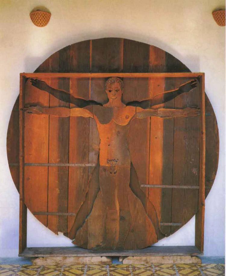 Mario Ceroli, L'Uomo di Leonardo