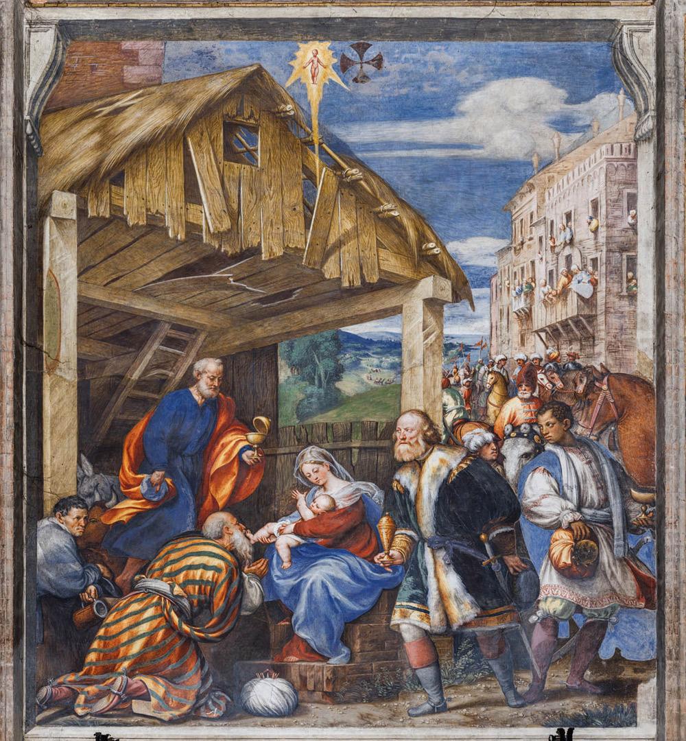 Giovanni Antonio de' Sacchis detto il Pordenone, Adorazione dei Magi