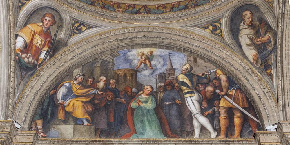 Giovanni Antonio de' Sacchis detto il Pordenone, Decollazione di santa Caterina