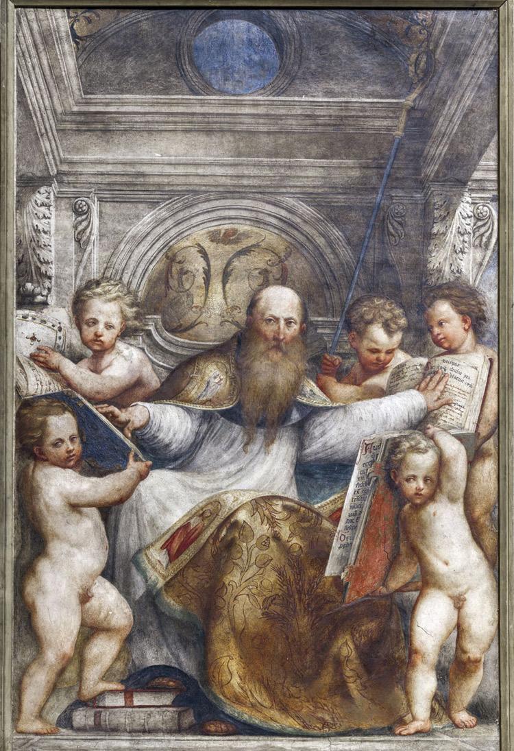 Giovanni Antonio de' Sacchis detto il Pordenone, Sant'Agostino