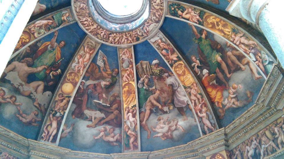 Le vele della cupola