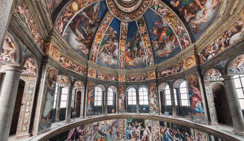 La struttura della cupola