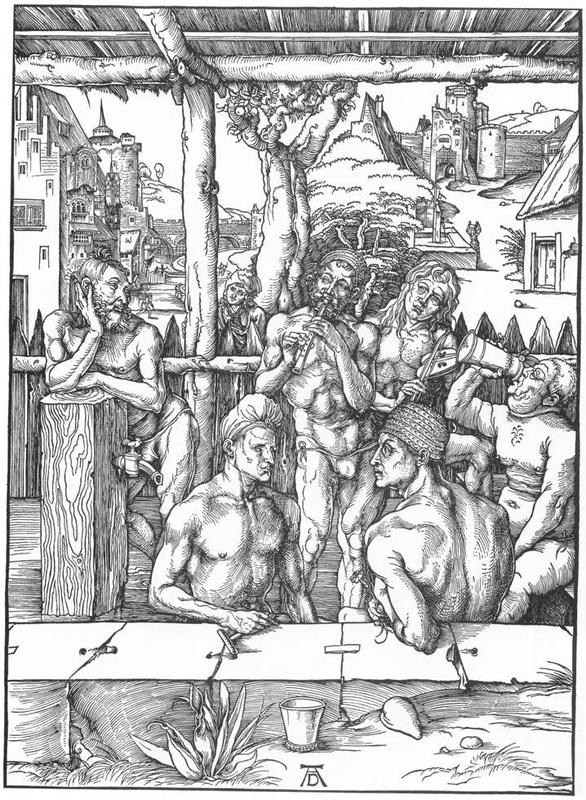 Albrecht Dürer, Il bagno degli uomini