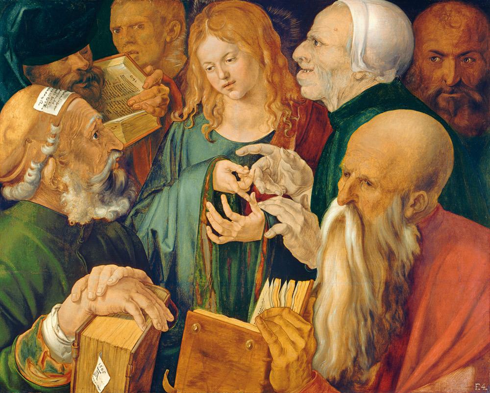 Albrecht Dürer, Cristo tra i dottori