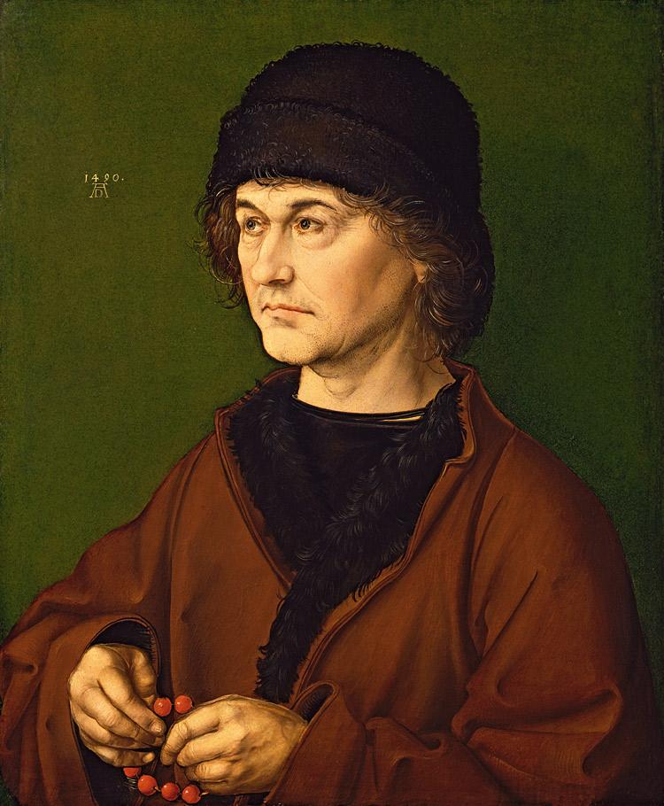 Albrecht Dürer, Ritratto del padre Albrecht il vecchio