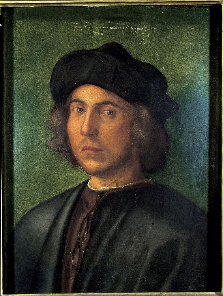 Albrecht Dürer, Ritratto di giovane uomo