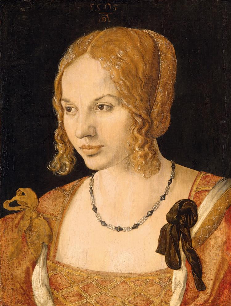 Albrecht Dürer, Ritratto di giovane veneziana