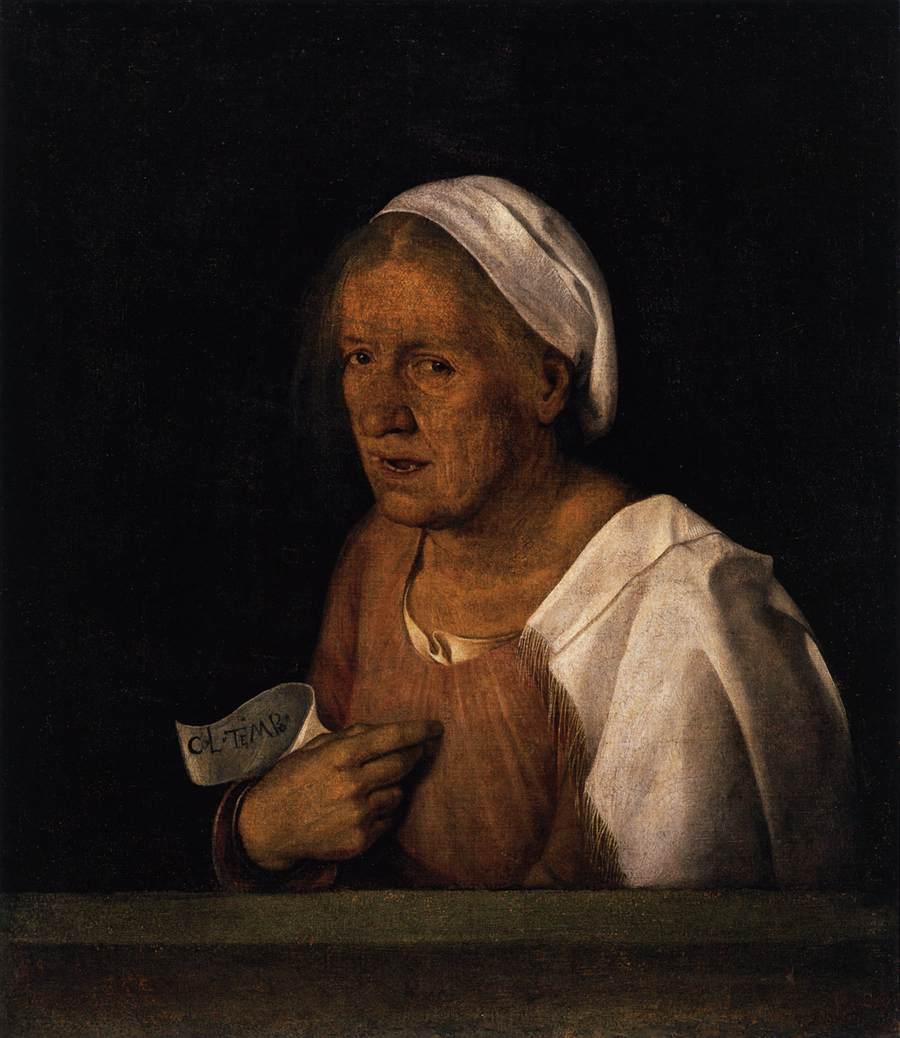 Giorgione, Ritratto di vecchia
