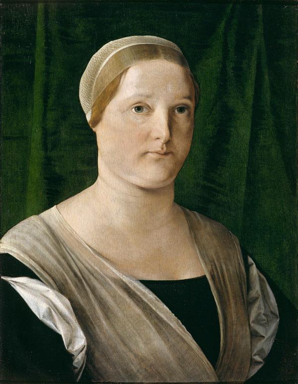 Lorenzo Lotto, Busto di donna (Giovanna de' Rossi vedova Malaspina?)