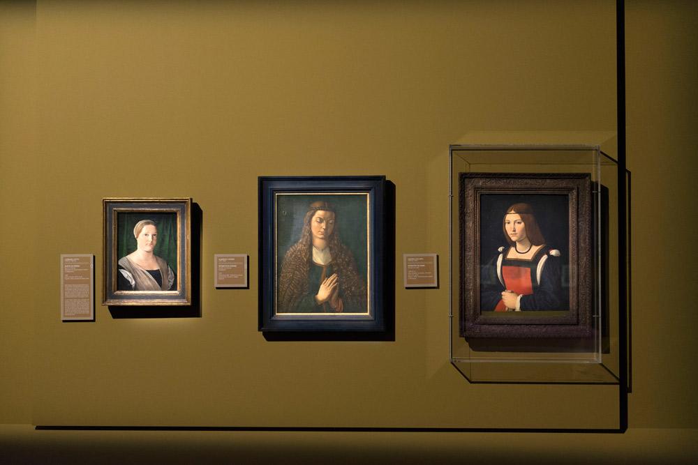 Sala della mostra su Dürer a Milano, Palazzo Reale. Ph. Credit Paolo Poce
