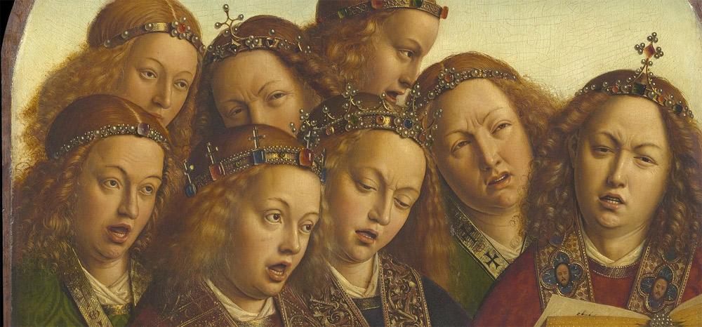 Le facce degli angeli. Ph. Credit KIK-IRPA
