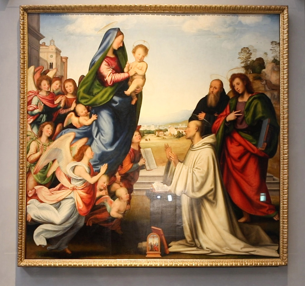 Fra' Bartolomeo, Visione di san Bernardo. Ph. Credit Finestre sull'Arte