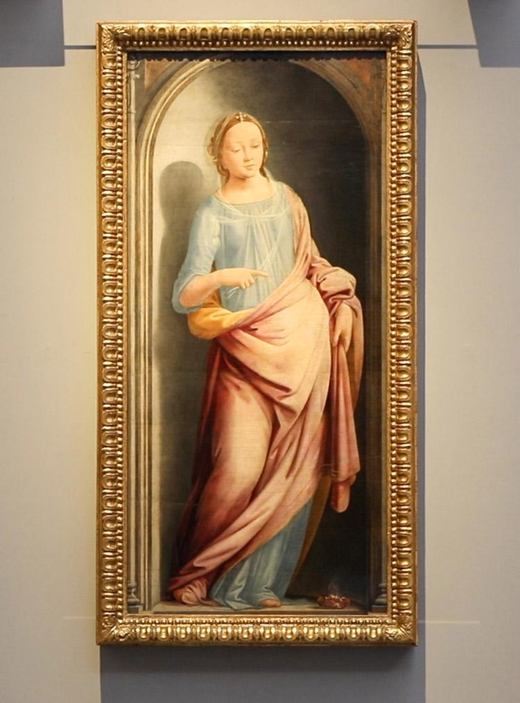 Fra' Bartolomeo, Porzia. Ph. Credit Finestre sull'Arte