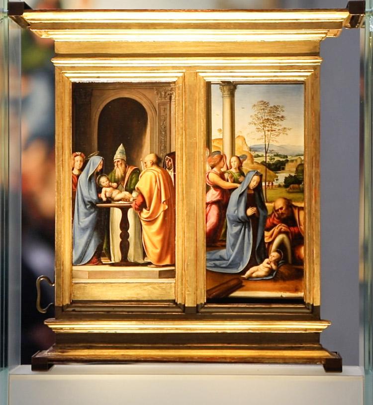 Fra' Bartolomeo, Tabernacolo del Pugliese. Ph. Credit Finestre sull'Arte