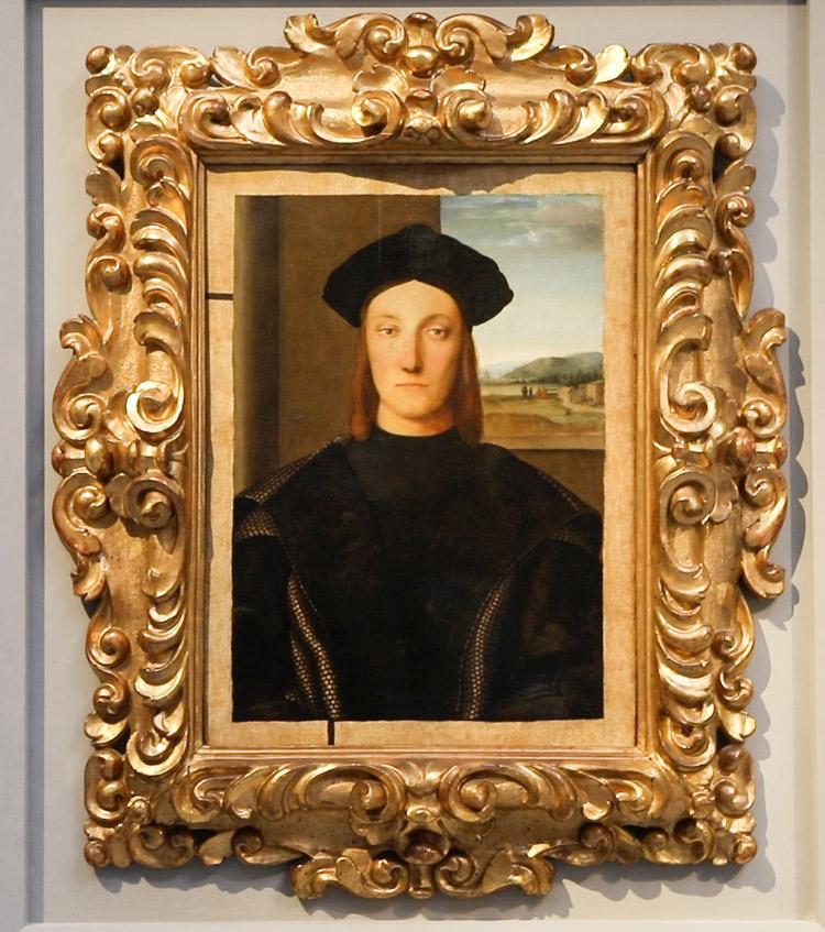 Raffaello, Ritratto di Guidobaldo da Montefeltro. Ph. Credit Finestre sull'Arte
