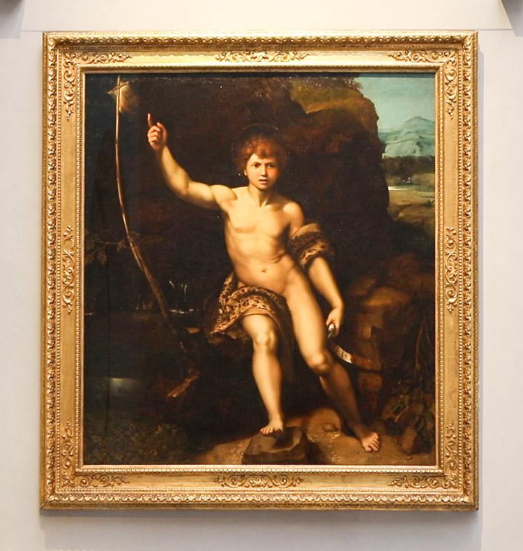 Raffaello e bottega, San Giovannino. Ph. Credit Finestre sull'Arte