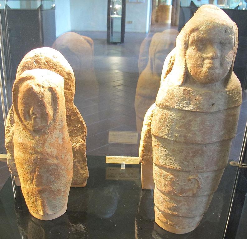 Statuette votive di neonati da Castelsecco