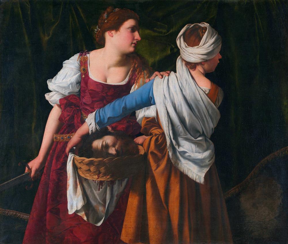 Orazio Gentileschi, Giuditta con la sua ancella