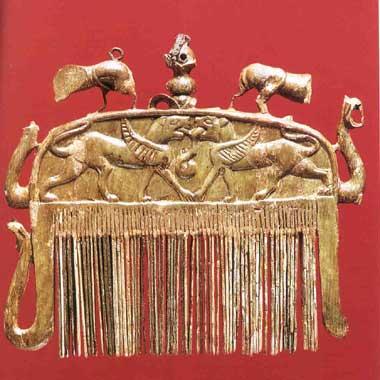 Manifattura etrusca, Pettine della Banditella