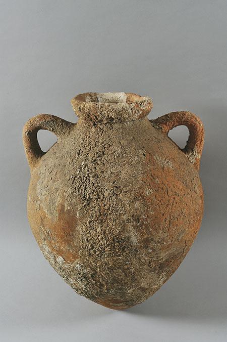 Manifattura etrusca, Anfora vinaria (fine VI - inizi V secolo a.C.; ceramica; Firenze, Museo Archeologico Nazionale)