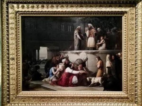 Francesco Hayez, Purificazione del tempo fatta da Ezechia