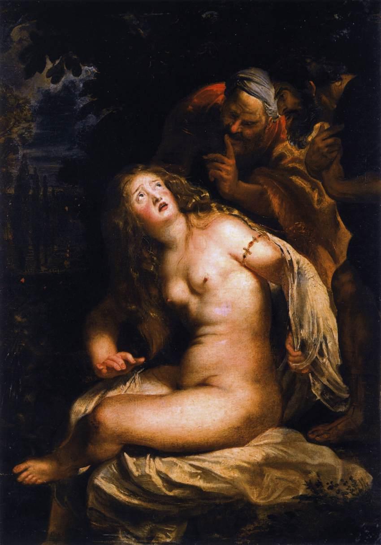 Pieter Paul Rubens, Susanna e i vecchioni (1607; olio su tela, 94 x 66 cm; Roma, Galleria Borghese)
