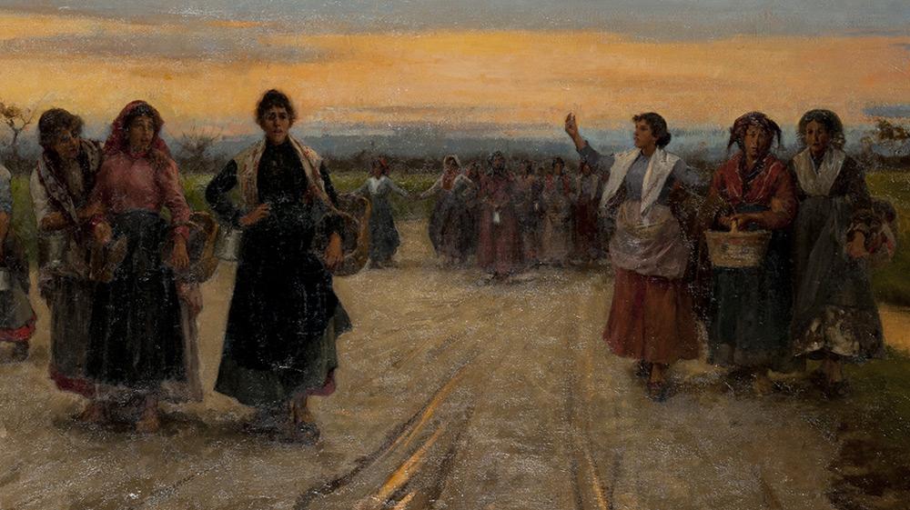 Il Duro Lavoro Delle Donne Tra Otto E Novecento Un Percorso