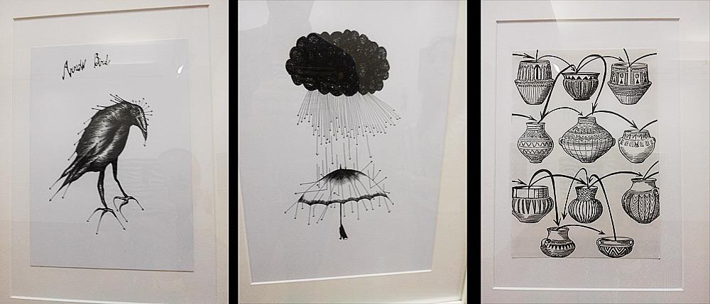 Alcuni disegni di Andrea Bianconi