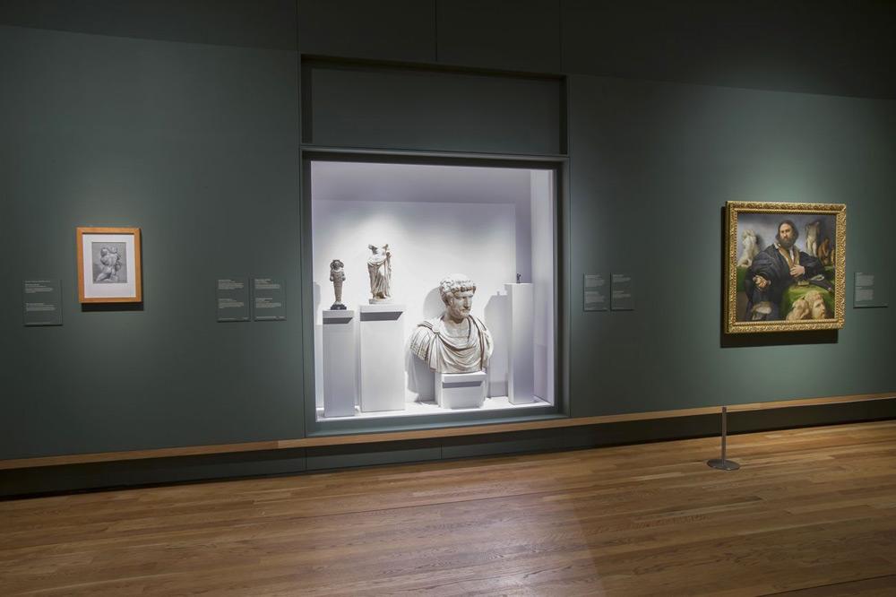 Sala della mostra Lorenzo Lotto. Retratos al Prado di Madrid