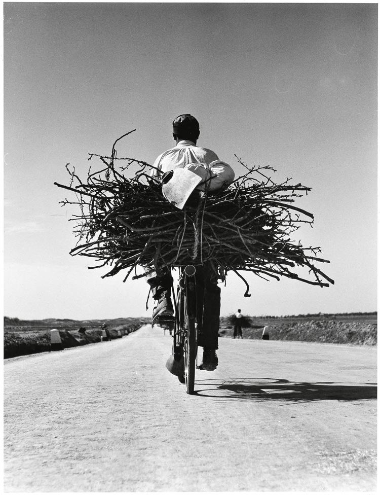 Fulvio Roiter, Sicilia, Sulla strada Gela, Niscemi, 1953 © Fondazione Fulvio Roiter