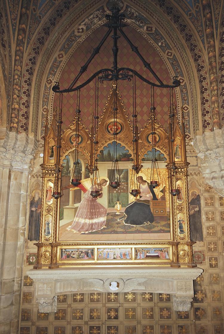 L'Annunciazione della cappella