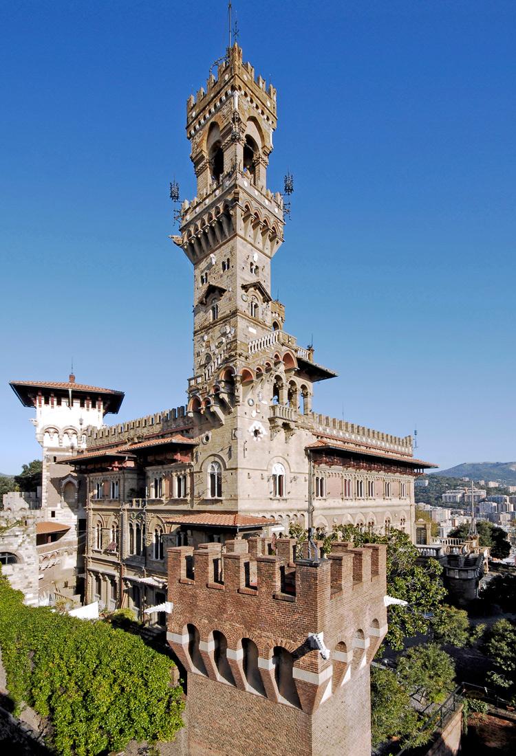 Il castello genovese dei sogni