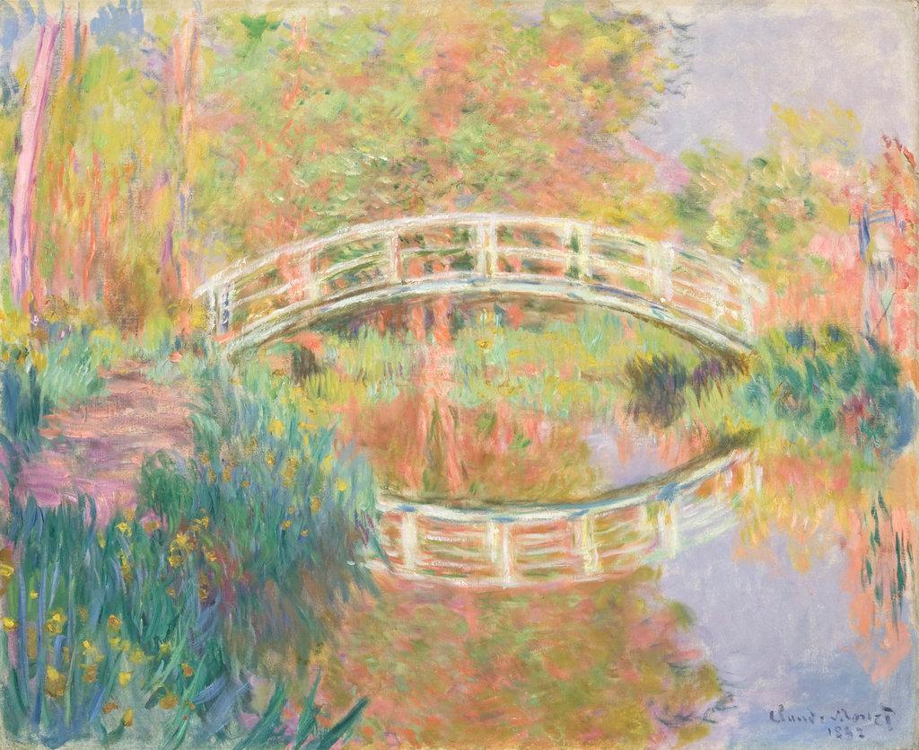 Claude Monet, Il ponte giapponese (1895; olio su tela, 78,7 x 97,8 cm; Filadelfia, Philadelphia Museum of Art)