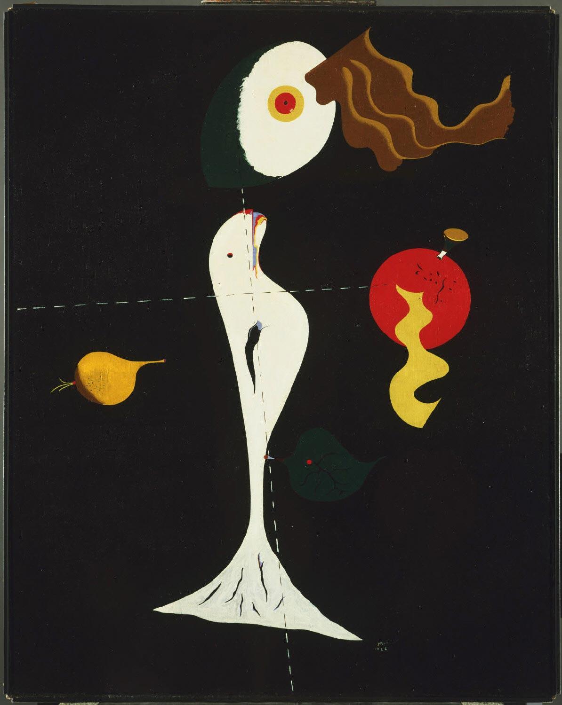Joan Miró, Nudo (1926; olio su tela, 92,4 x 73,7 cm; Filadelfia, Philadelphia Museum of Art)