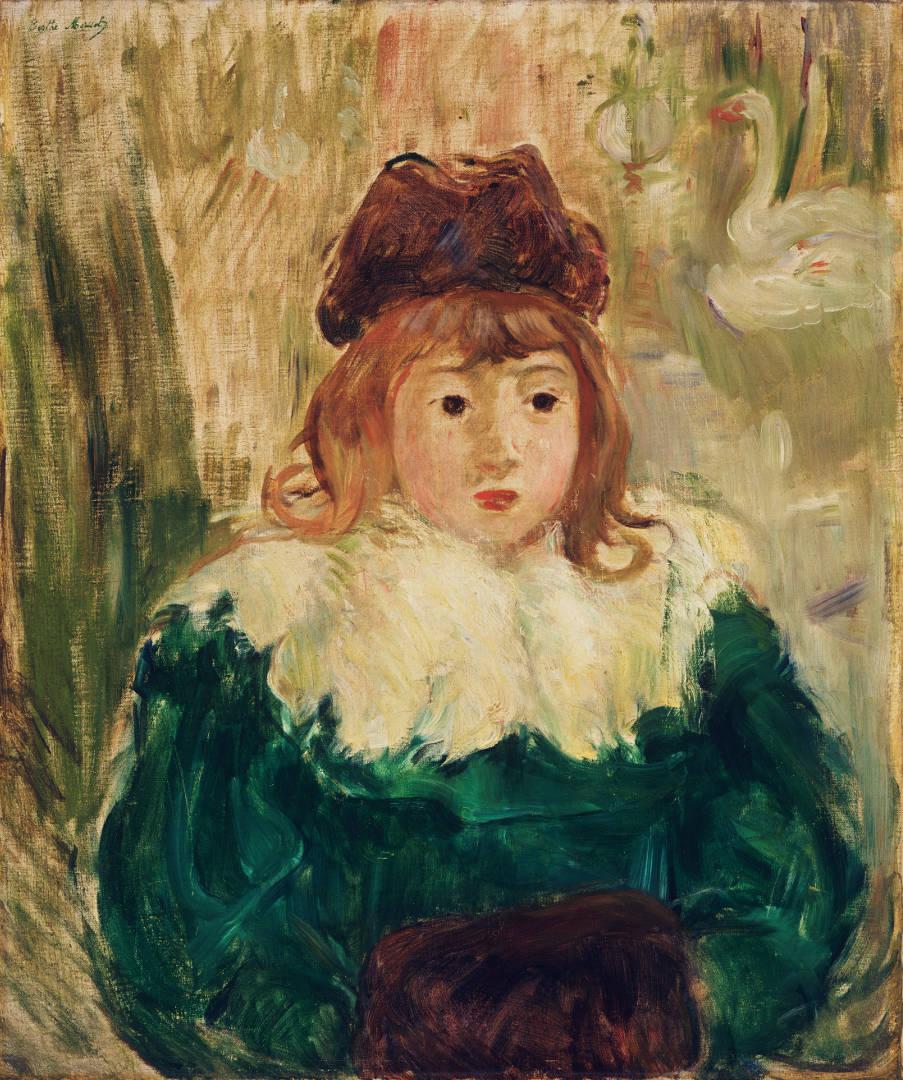 Berthe Morisot, Ritratto di bambina (1894; olio su tela, 54,4 x 65,4 cm; Filadelfia, Philadelphia Museum of Art)