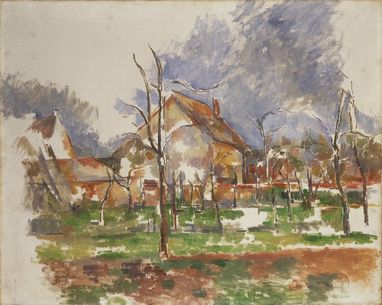 Paul Cézanne, Paesaggio invernale (1874 circa; olio su tela, 65,1 x 81 cm; Filadelfia, Philadelphia Museum of Art)