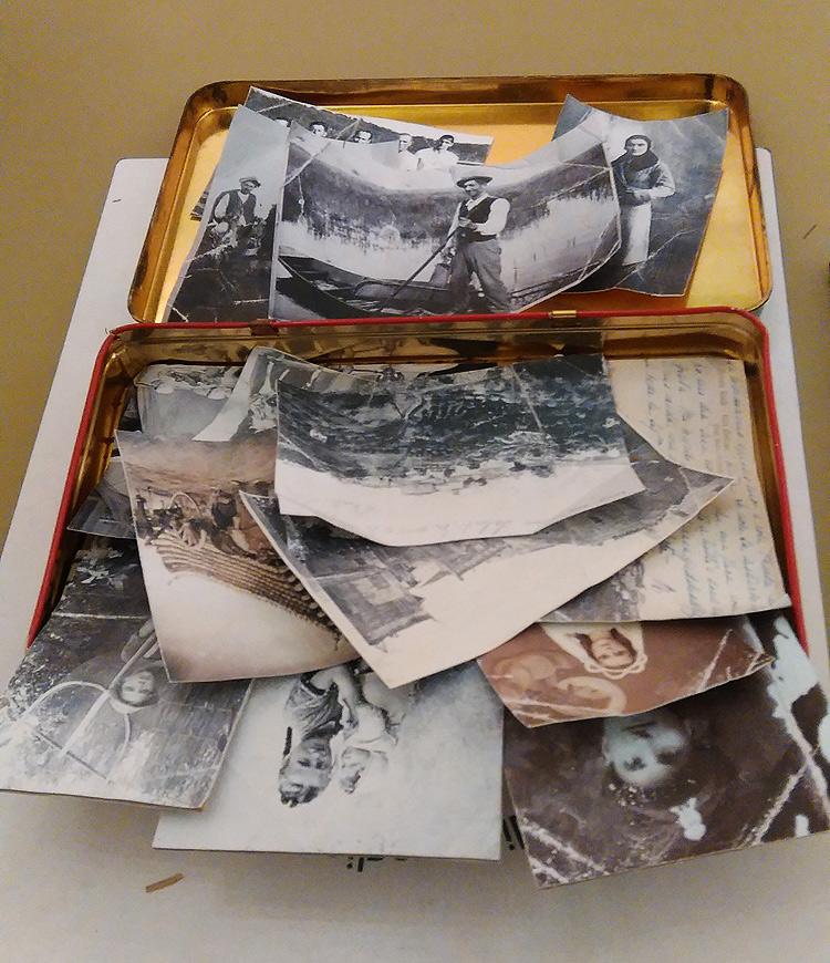 Vecchie fotografie del Padule di Fucecchio