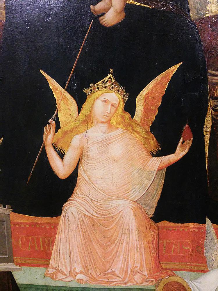 Maestà di Massa Marittima, la Carità