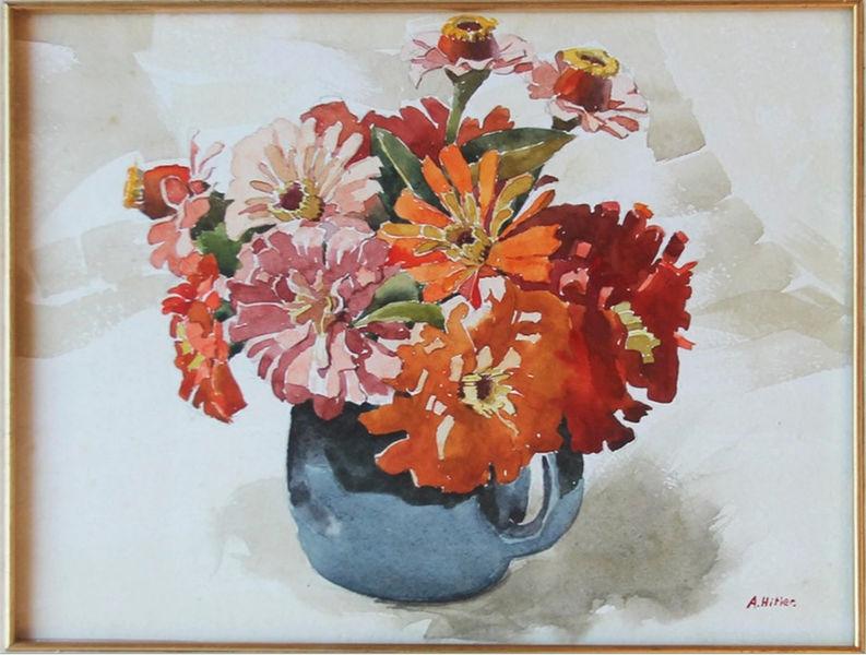 Adolf Hitler, Vaso di fiori
