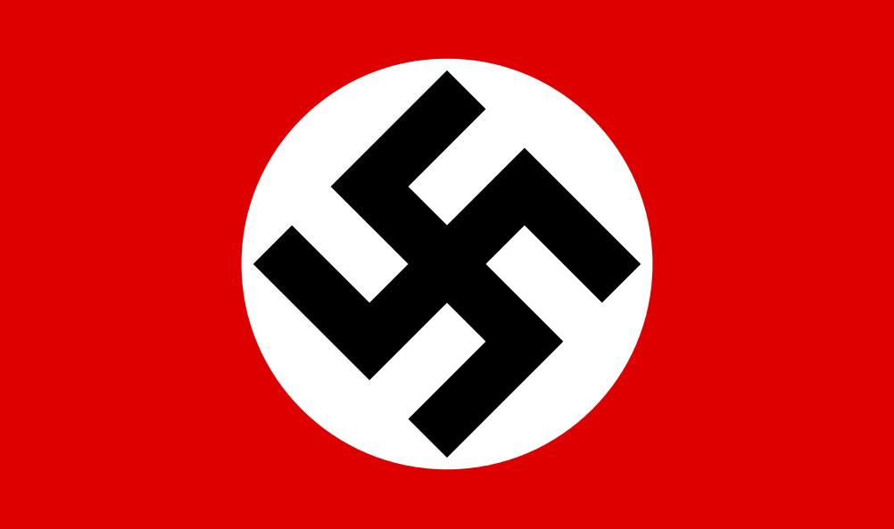 La bandiera della Germania nazista