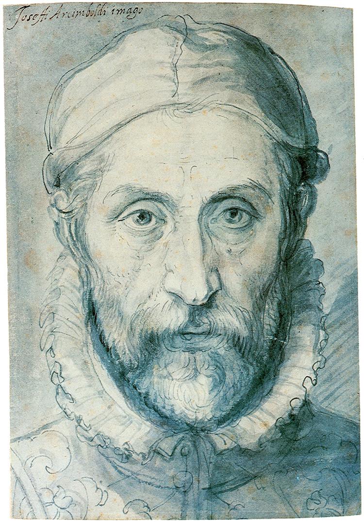 Giuseppe Arcimboldi, Autoritratto