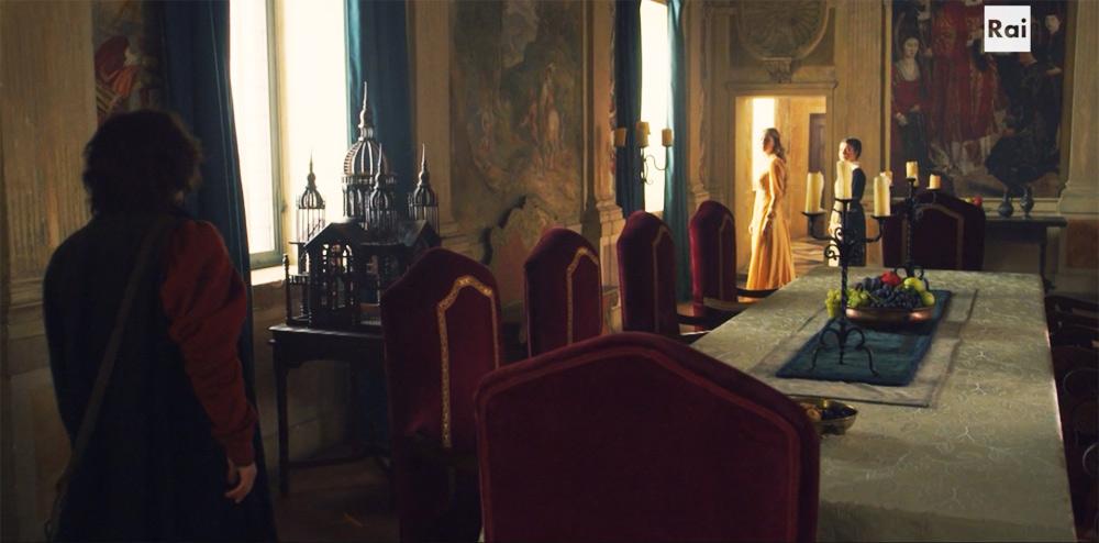 Fiction: il palazzo dei Vespucci (Firenze)