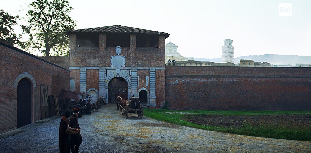 Fiction: Porta Nuova (Pisa)