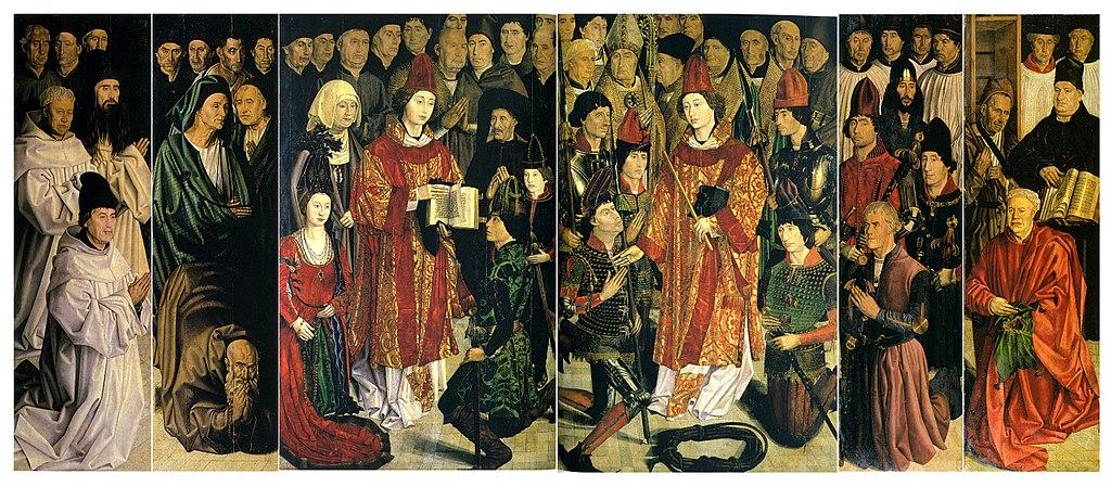 Realtà: il trittico di San Vincenzo di Nuño Gonçalves (Lisbona)