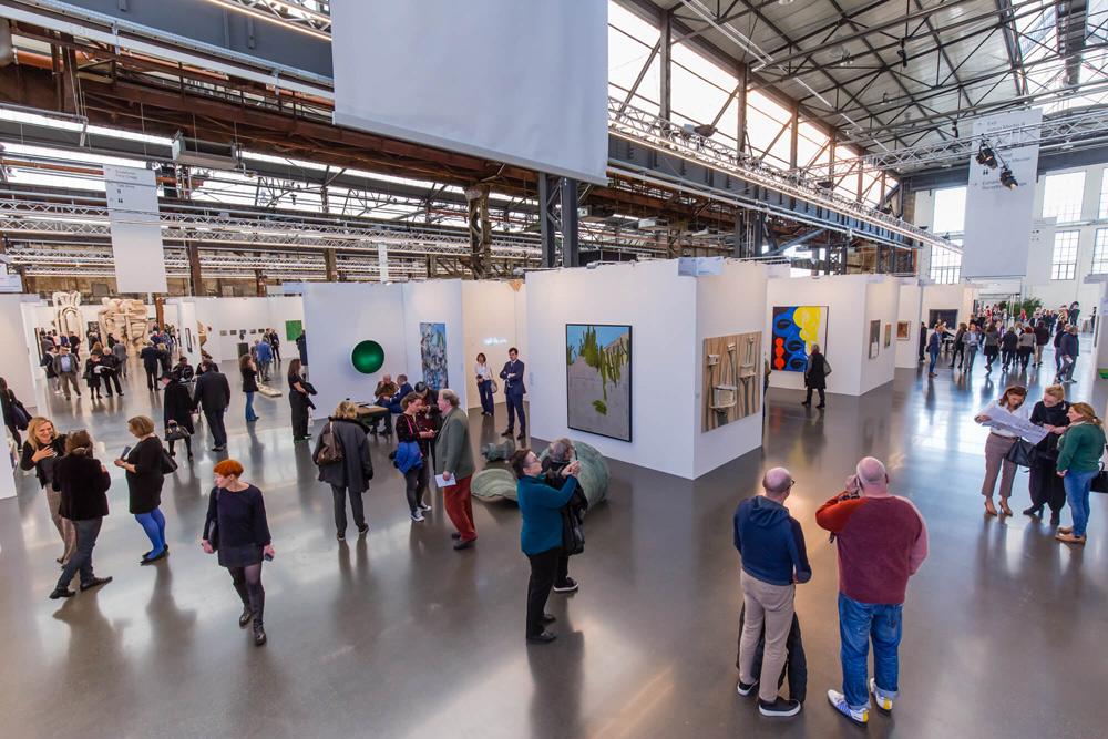 Art Düsseldorf 2018, Areal Böhler, Düsseldorf. Ph. Credit Felix Hild
