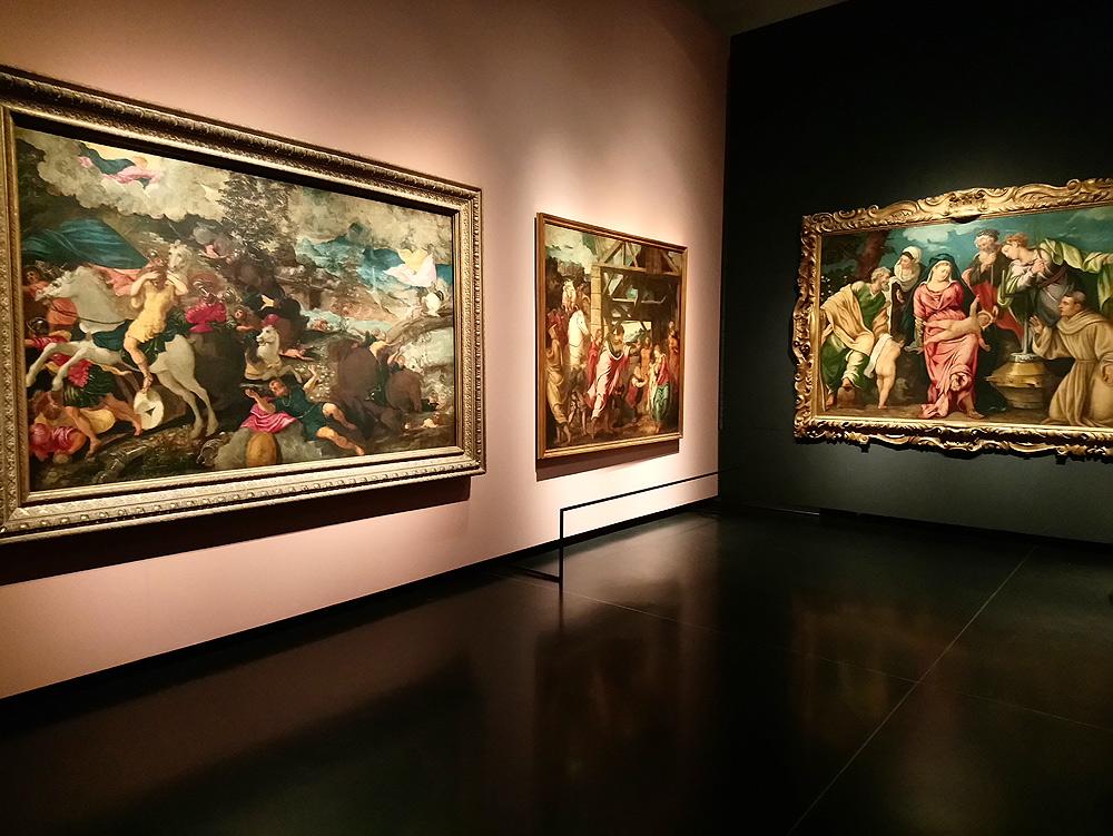 Sala della mostra Il giovane Tintoretto a Venezia, Gallerie dell'Accademia