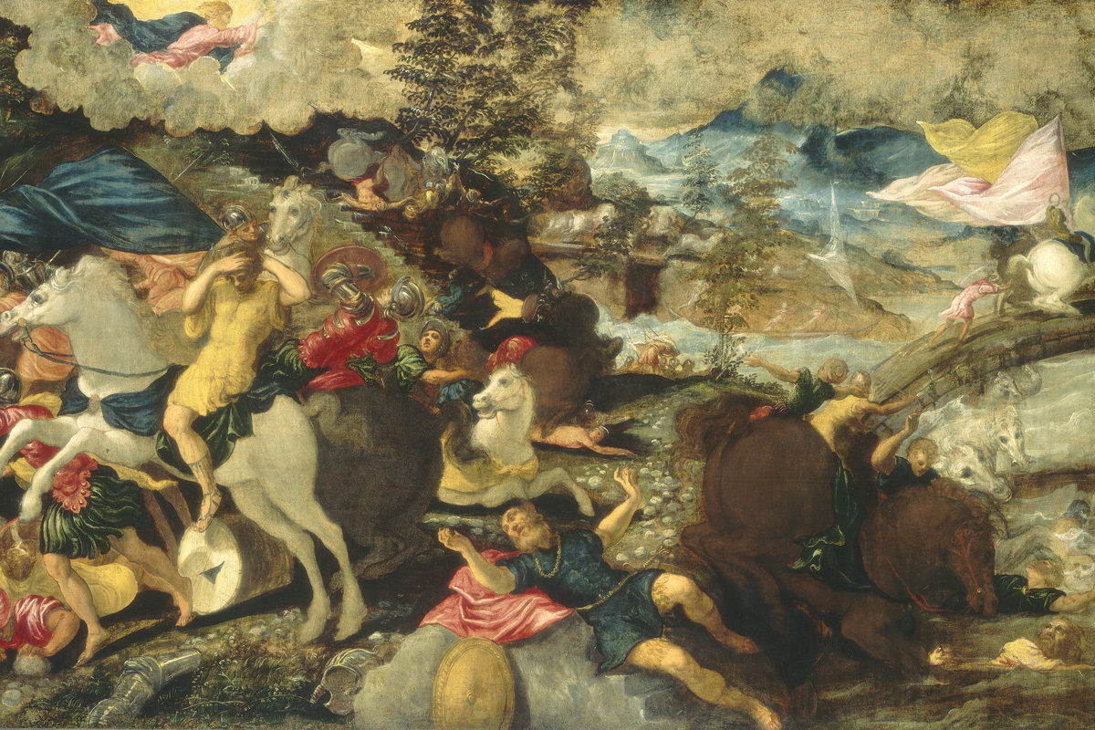 Tintoretto, Conversione di san Paolo (1544 circa o 1539-1540; olio su tela, 152,5 x 236,5 cm; Washington, National Gallery of Art)