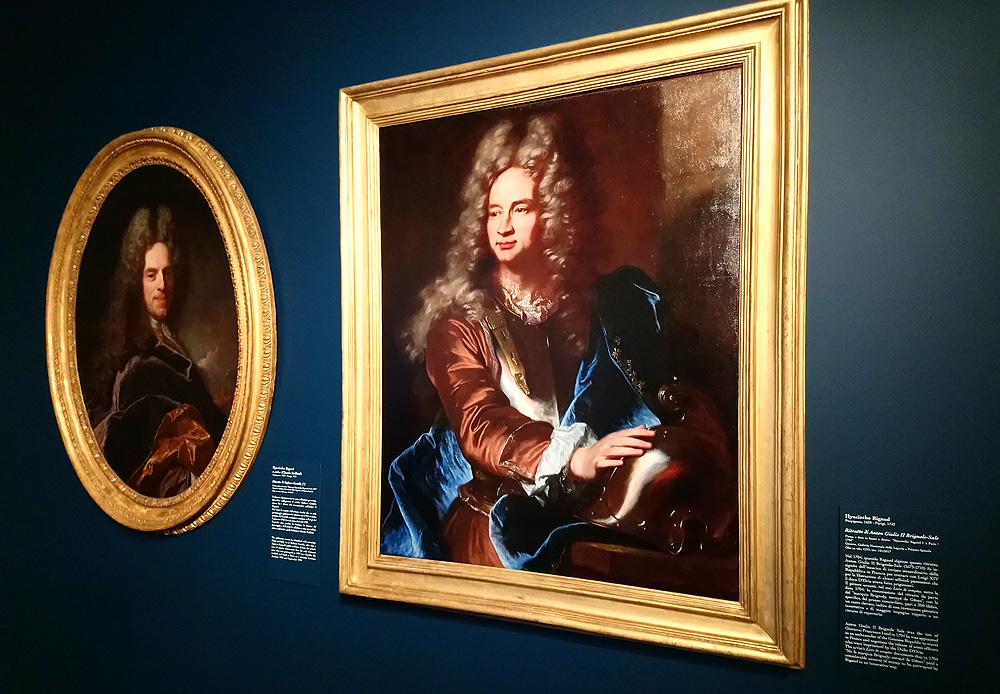 I ritratti di Rigaud a confronto alla Galleria Nazionale di Palazzo Spinola