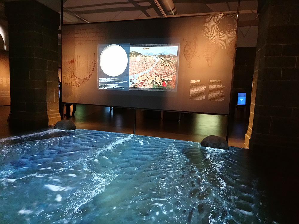 Immagini dalla mostra L'acqua microscopio della natura. Il Codice Leicester di Leonardo da Vinci