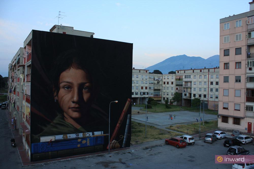 Un crowdfunding per completare il Parco dei Murales a Napoli